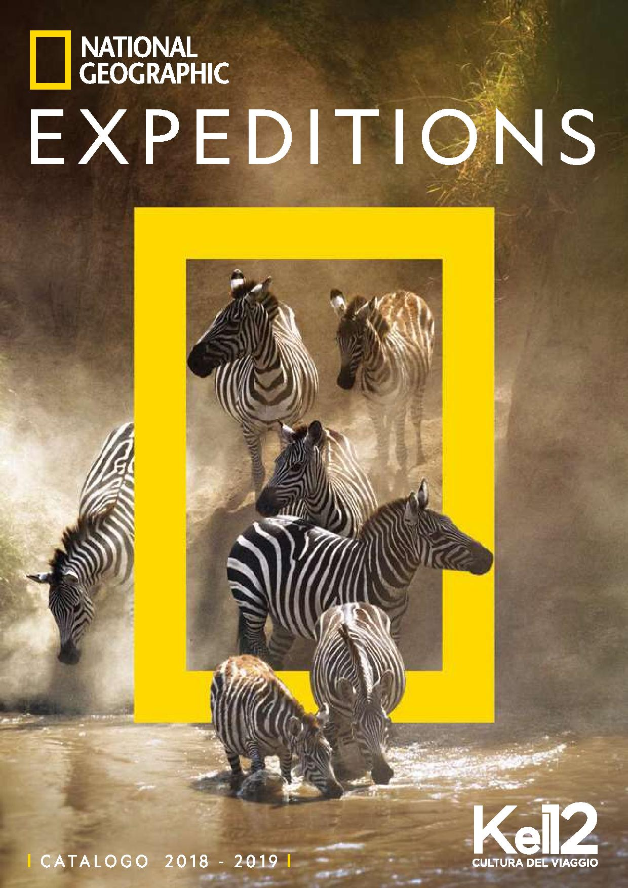 Kel 12 Calendario Viaggi.Kel 12 National Geographic Expeditions Catalogo Viaggi 2018